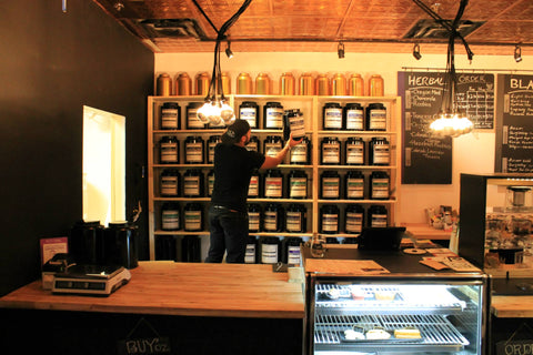 independent coffee tea shops
