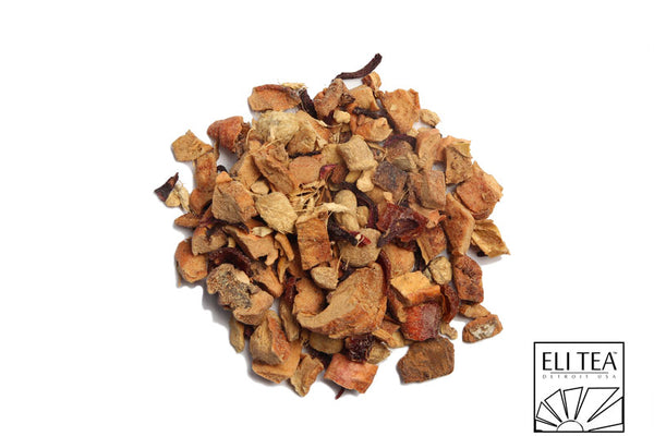 Apple Ginger Spice Herbal Tea