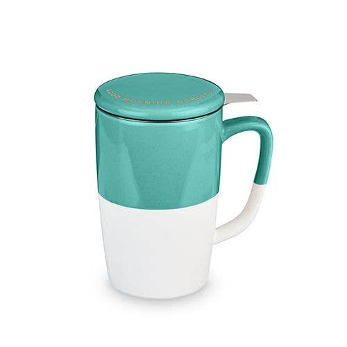 Delia™ Good Morning Gorgeous Tea Mug & Infuser