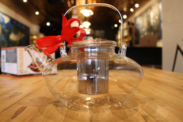 Large Glass Tea Pot