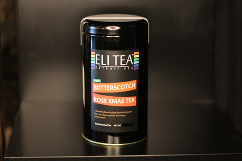 Butter Scotch Rose Xmas Tea (organic)