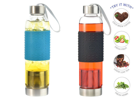 Grosche Marino Glass Portable Tea Infuser