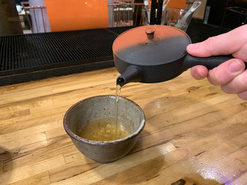 Made in Japan Clay Kyusu Tea Pot