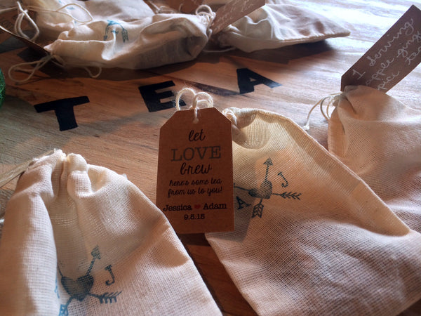 Bulk Custom Packed Tea Bags