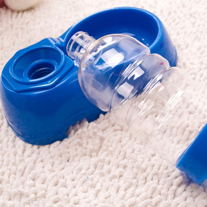 Automatic Pet Feeder Water Bottle Dispenser