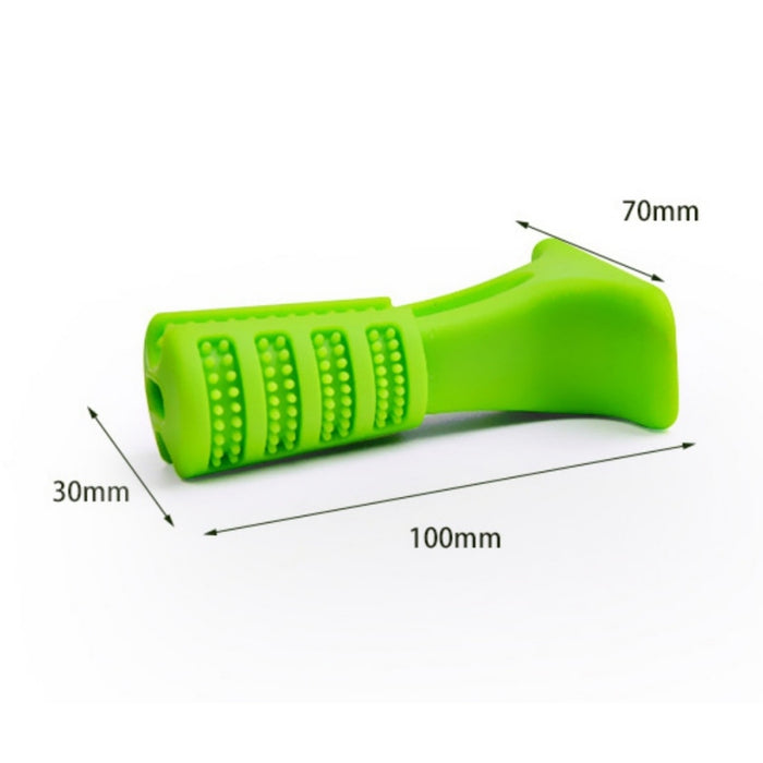 Self Toothbrush Rubber Toy For Dogs