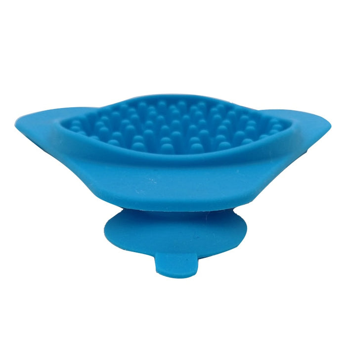Silicone Wall Mounted Lick Pad Slow  Food Feeder