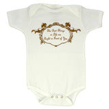 White Baby Onesie - Best Things