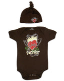 Baby Gift Set - Brown Forever