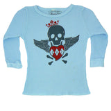 Blue Baby Thermal - Blue Skull