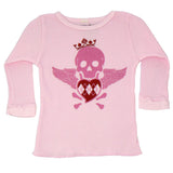 Pink Baby Thermal - Pink Skull