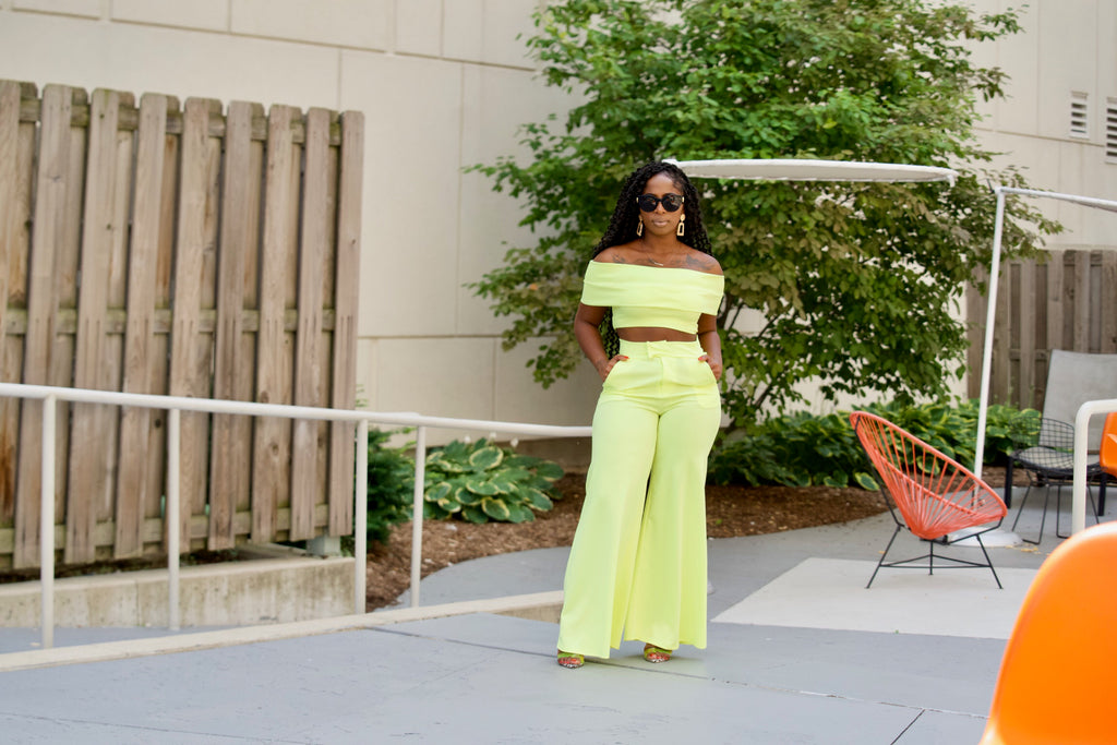 Atlanta Boss Chic Two Piece Set