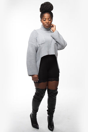 Zoey Crop Sweater