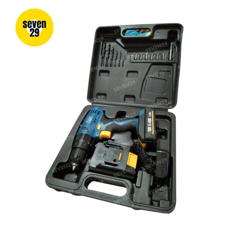 HOYOMA JAPAN 18V Cordless Drill (With Free 2 Lithium-Ion Batteries) - seven29shop