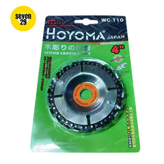 Hoyoma Wood Carving Disc & Branch Trimmer [ANGLE GRINDER SOLD SEPARATELY]
