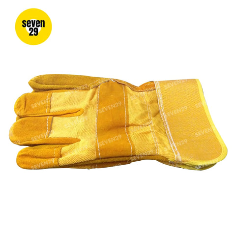 Fujima Japan 100% Pure Leather 11 inch  Welding Gloves