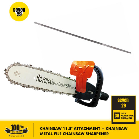 HOYOMA JAPAN Chainsaw Grinder 11.5 Inch Attachment Adaptor (ANGLE GRINDER MACHINE SOLD SEPARATELY)