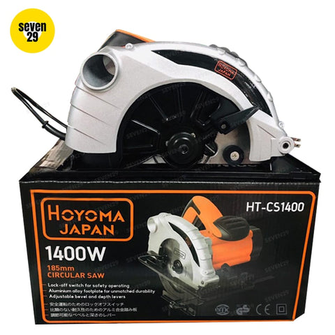 HOYOMA JAPAN 1400W Circular Saw - seven29shop