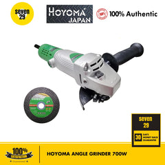 HOYOMA JAPAN 700W Angle Grinder (With Free Cutting Disc) - seven29shop