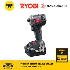 Kyocera Rechargeable Impact Driver 18V DID10XR