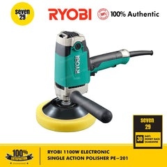Kyocera Ryobi 1100W Electronic Single Action Polisher PE-201