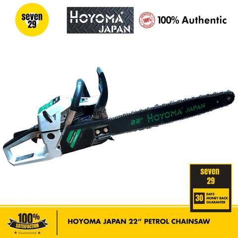 HOYOMA JAPAN 22 Inches Petrol Chainsaw