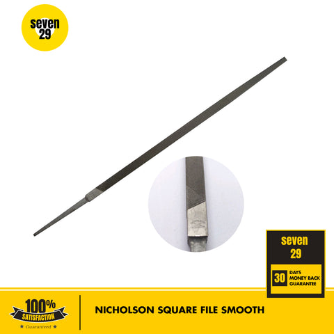 "Nicholson 10"" Square File Smooth - seven29shop"