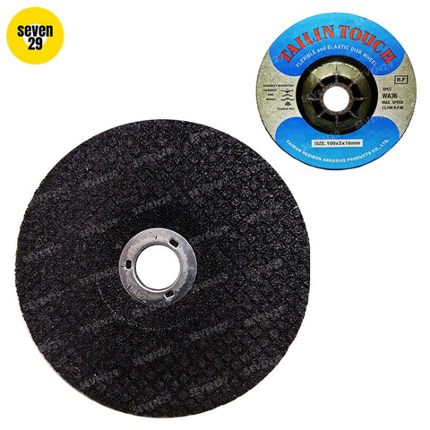 Tailin Flexible Disc 100 x 2 x 16mm WA36 (For Stainless Steel) - seven29shop