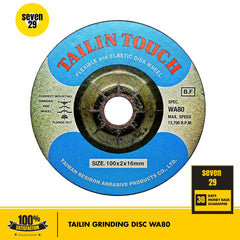 Tailin Flexible Disc 100 x 2 x 16mm WA80 (For Stainless Steel)