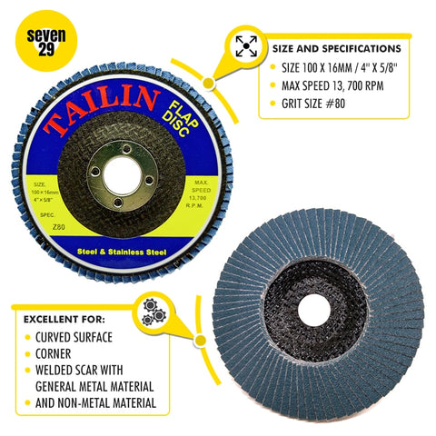 Tailin Flap Disc Z80 - seven29shop