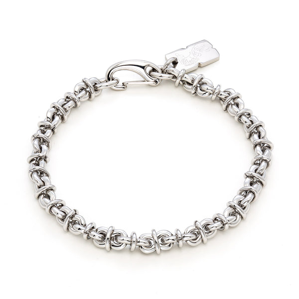 SAINT MARKS chain link bracelet / 8mm