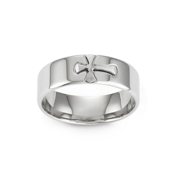 StrongSteel CROSS ring