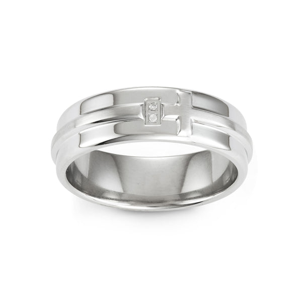 MODERN CROSS ring
