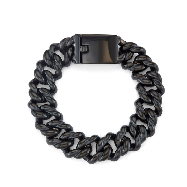 UTICA / bracelet / 13mm / black