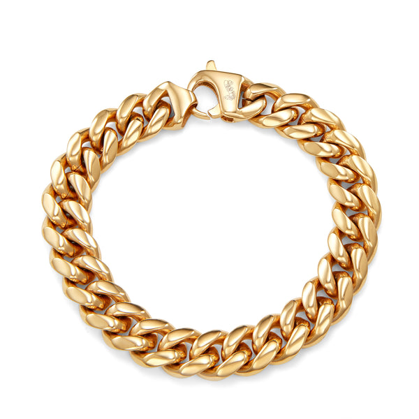 gold cuban bracelet