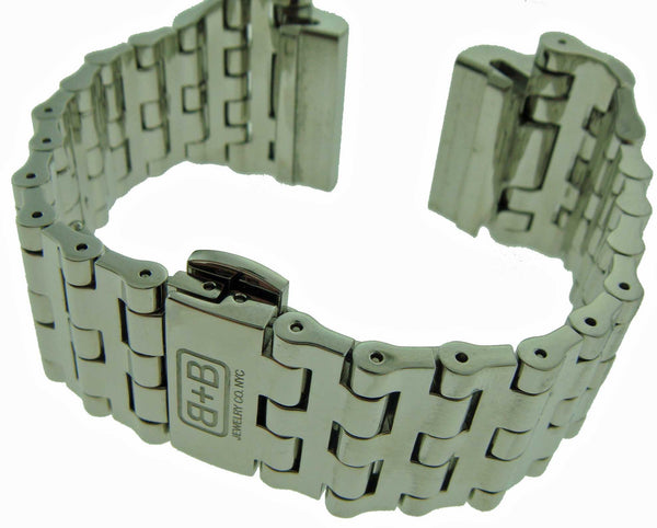 Solid Stainless Watch Bracelet