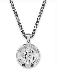 TILDEN saint christopher medal