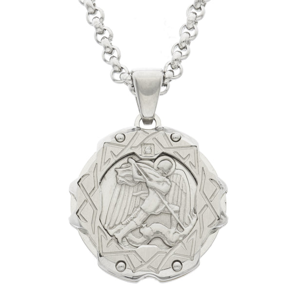 cool saint michael medal
