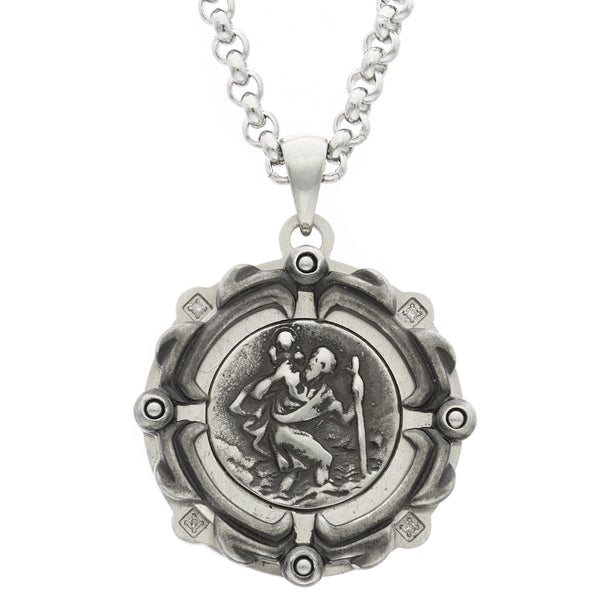 GEIGER / St. Christopher medal / 23mm