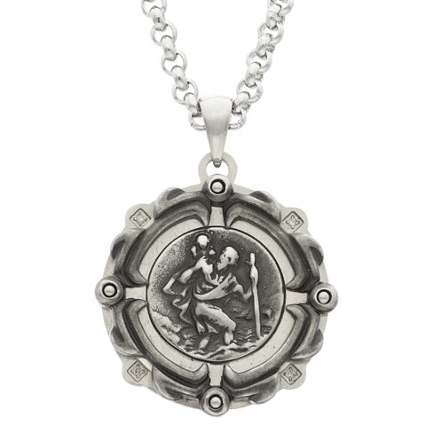 GEIGER saint christopher medal