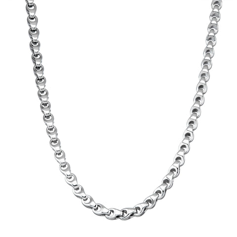 "LINK/24"" long /Pinched Link Chain /8 mm"