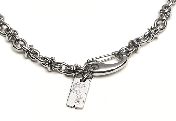 BOND chain link bracelet / 8mm / 9""