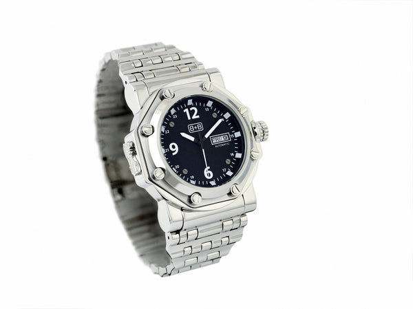 WCH10A military watch / automatic / steel bracelet