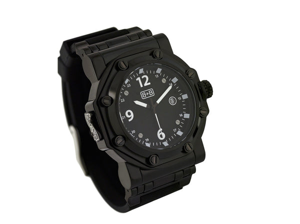 WCH10A military watch / black