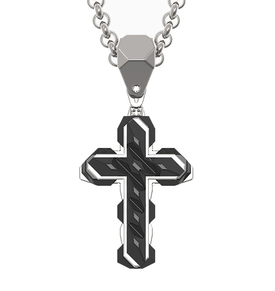 small black cross
