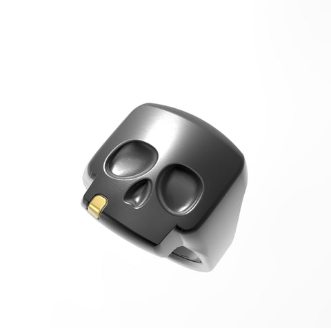 GOALIE Skull Ring