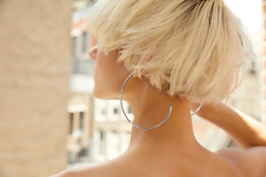 statement hoop earrings handmade ali grace jewelry nyc barneys