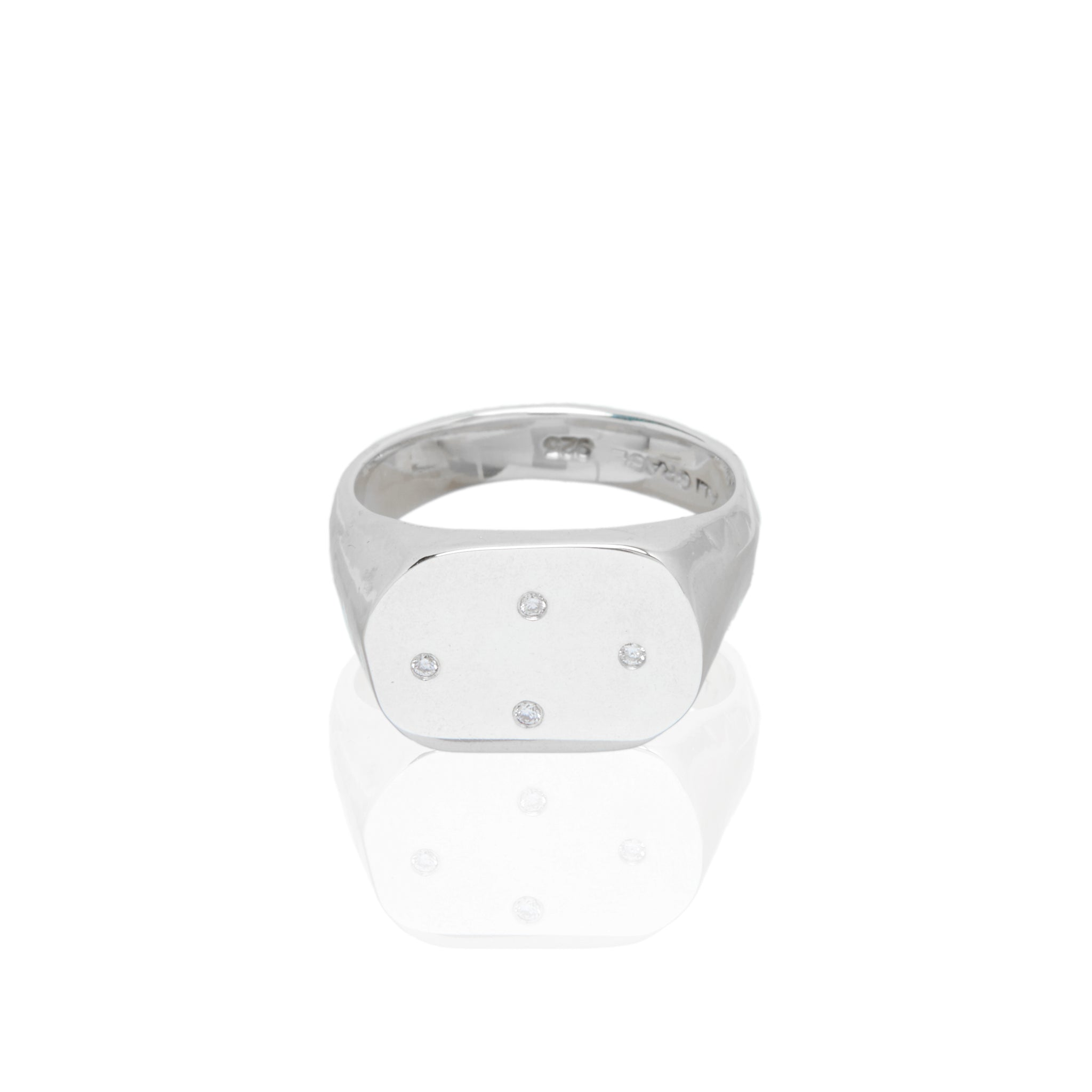 sterling silver diamond ring handmade fashion blogger vogue style barneys