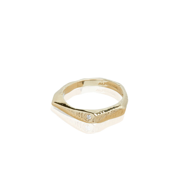 gold ring fine jewelry diamond ring alternative bride wedding ring ali grace jewelry