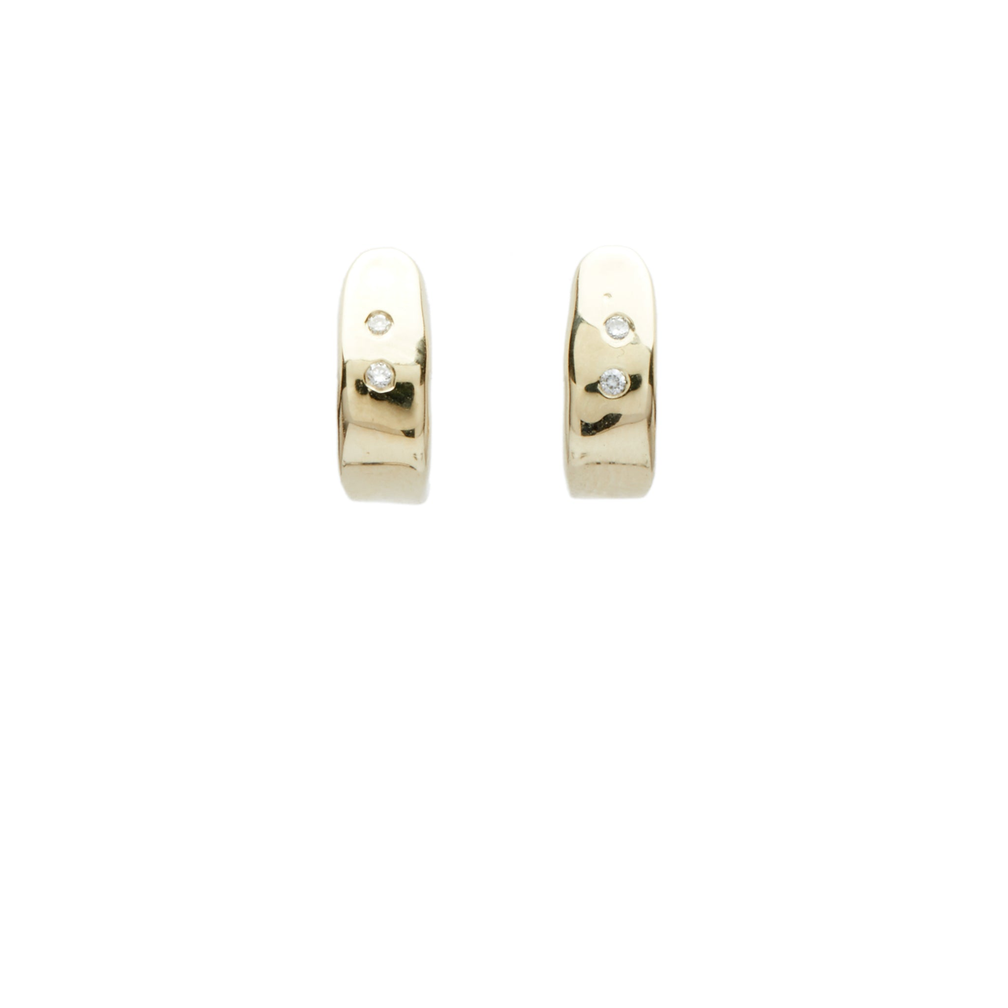 huggie earrings diamond gold huggies small hoop earrings